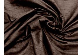 Dupion indisch dunkelbraun