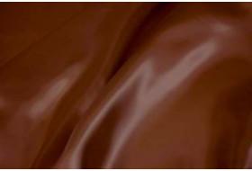 Satinfutter dunkelbraun