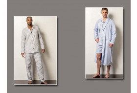 Bademantel, Pyjama, Shorts
