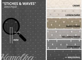 DEKO-PIQUE | STICHES & WAVES