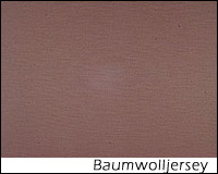 Baumwolljersey