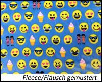 Fleece/Flausch gemustert