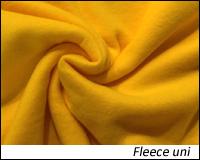 Fleece Stoffe uni