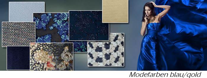 Modetrend Blau
