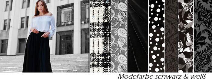 Modetrend Schwarz&Weiß